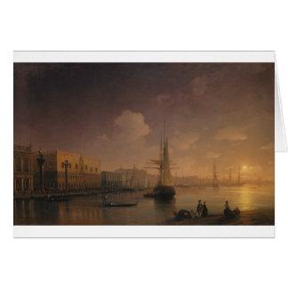 Cartão Noite Venetian por Ivan Aivazovsky