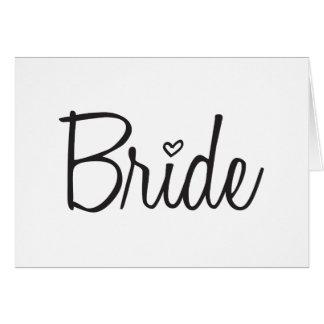 Cartão Noiva