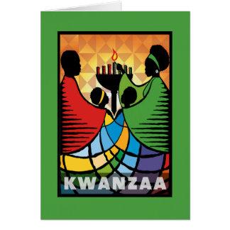 Cartão Nós somos um feriado Notecards de Kwanzaa
