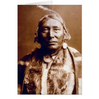 Cartão Nós-Tonelada (nativo americano)