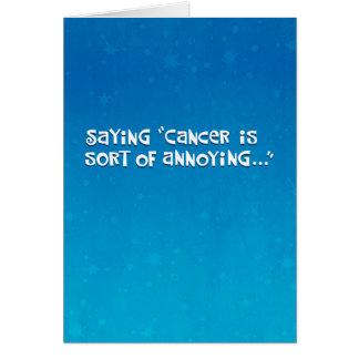 Cartão Nosso amigo com cancer