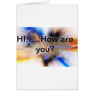 Cartão Notecard da amizade