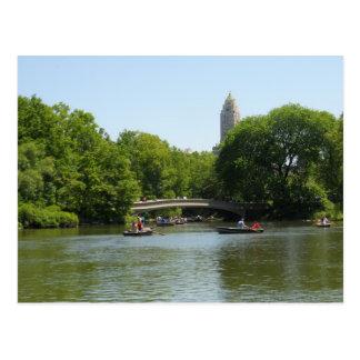 Cartão NYC de Manhattan do Central Park da ponte d Cartão Postal