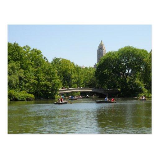Cartão NYC de Manhattan do Central Park da ponte d Cartoes Postais