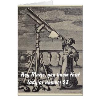 Cartão o astrónomo