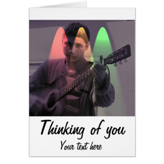 Cartão O Busker envia cumprimentos