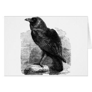 Cartão O corvo