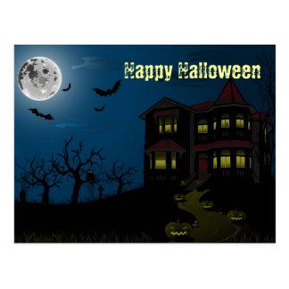 Cartão o Dia das Bruxas feliz Cartões Postais