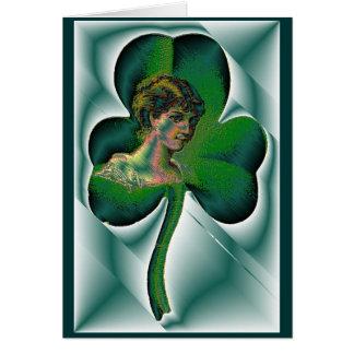 Cartão O dia de St Patrick feliz!