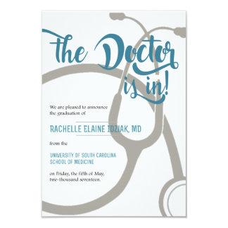 Cartão O doutor está dentro
