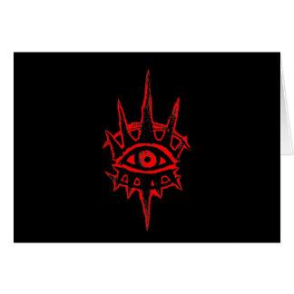 Cartão O grande olho