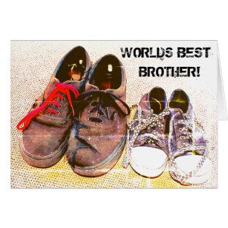 Cartão O melhor irmão dos mundos