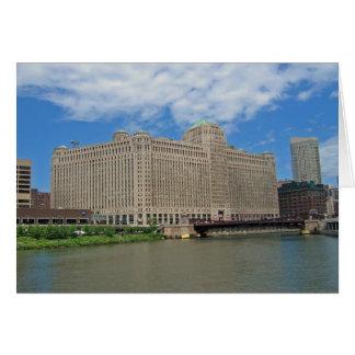 Cartão O mercado de mercadoria em Chicago