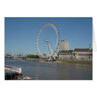 Cartão O olho de Londres
