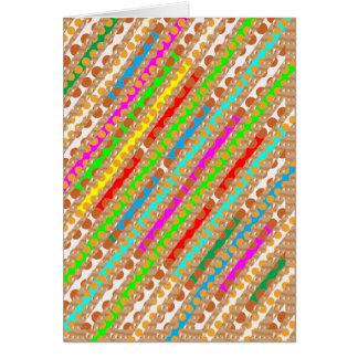 Cartão O perfurador de papel descasca a ARTE do REMENDO