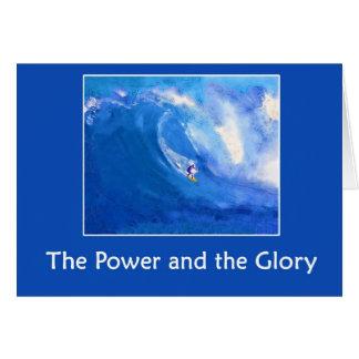 Cartão O poder e a glória