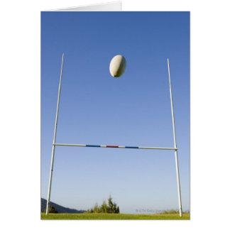 Cartão Objetivo do rugby