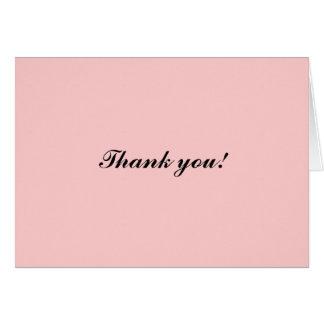 Cartão Obrigado!
