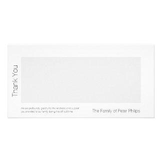 Cartão Obrigado da simpatia do modelo de W você adiciona