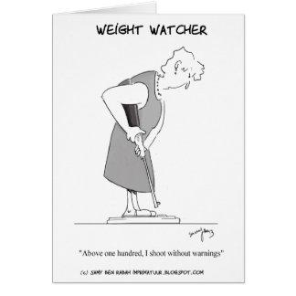 Cartão Observador do peso