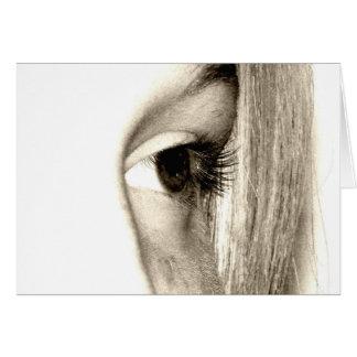 Cartão Olho