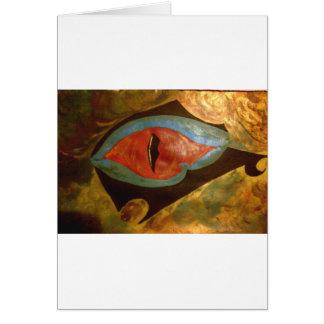 Cartão olho do dragão