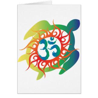 Cartão OM-Tatto-Vibrante-Tartaruga