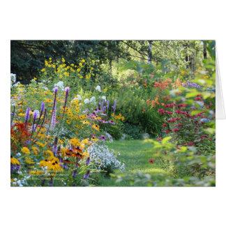 Cartão Onde três jardins se encontram