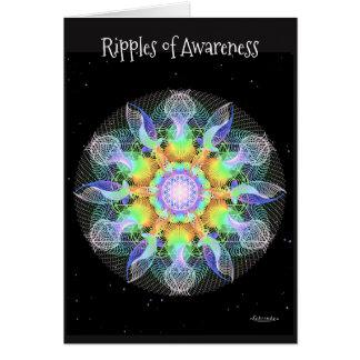 Cartão Ondinhas da consciência