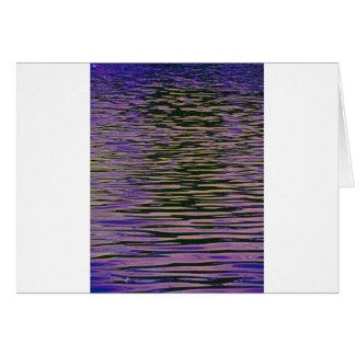 Cartão Ondinhas violetas
