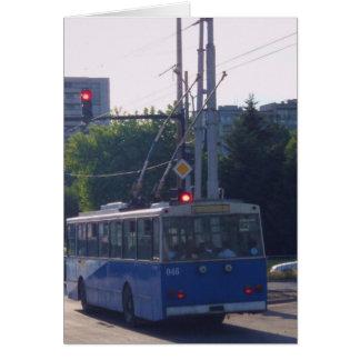 Cartão Ônibus de trole em Bulgária