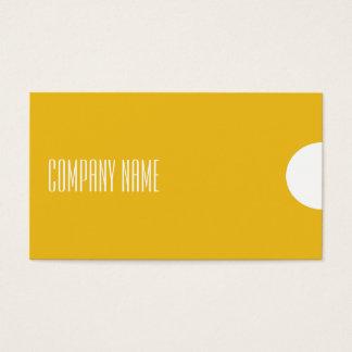 Cartão-ouro moderno e profissional simples do cartão de visitas