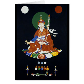Cartão Padmasambhava [cartão]