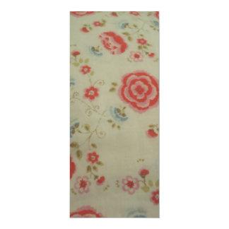 Cartão padrão de rosas
