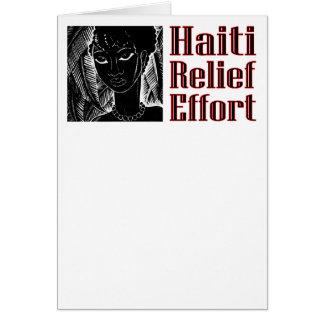 Cartão Para Haiti