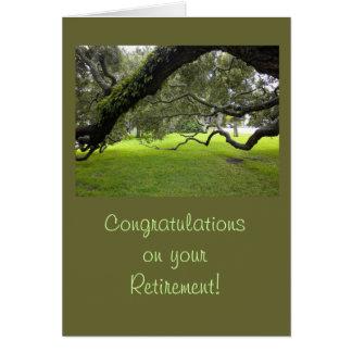 Cartão Parabéns da aposentadoria