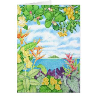 Cartão Paraíso solitário