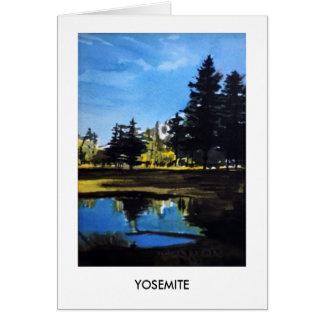 Cartão Parque nacional #3 de Yosemite