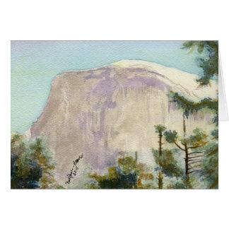 Cartão Parque nacional de Yosemite:  Meia abóbada