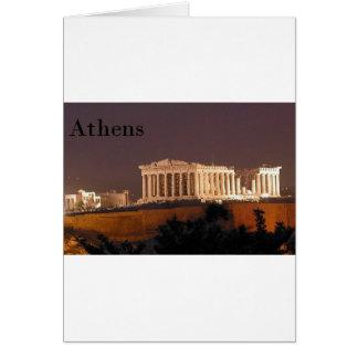 Cartão Partenon de Atenas da piscina (St.K)