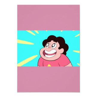 Cartão Partido de cristal da gema