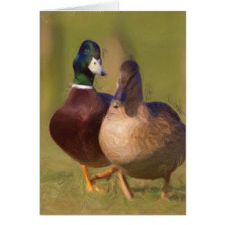 Cartão Pato