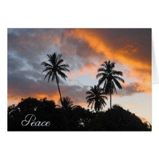Cartão Paz - obtenha o poço/incentivo