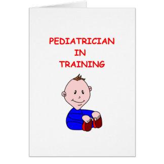 Cartão pediatra