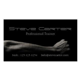 cartão pessoal profissional do cartão de visita