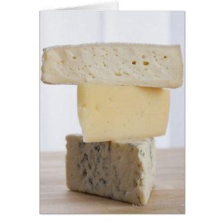 Cartão Pilha de queijo