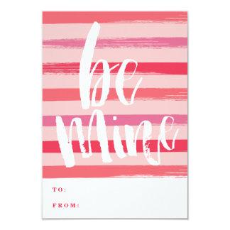 Cartão pintado do dia de são valentim da sala de convite 8.89 x 12.7cm