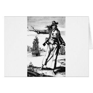Cartão pirata fêmea