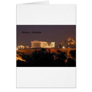 Cartão Piscina - Atenas - acrópole (por St.K)