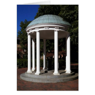 Cartão Poço velho de UNC Chapel Hill